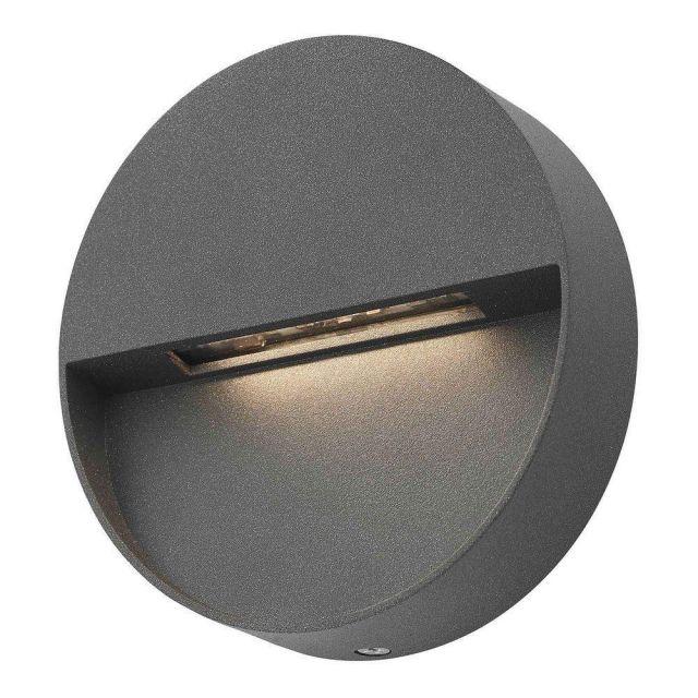 Dar UGO2139 Ugo Outdoor Wall Light In Grey