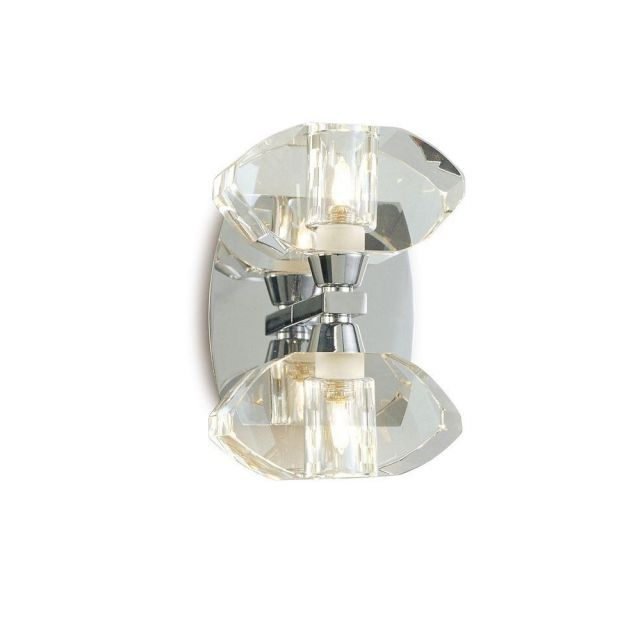 Mantra M0424/S Alfa 2 Light Switched Wall Light In Chrome