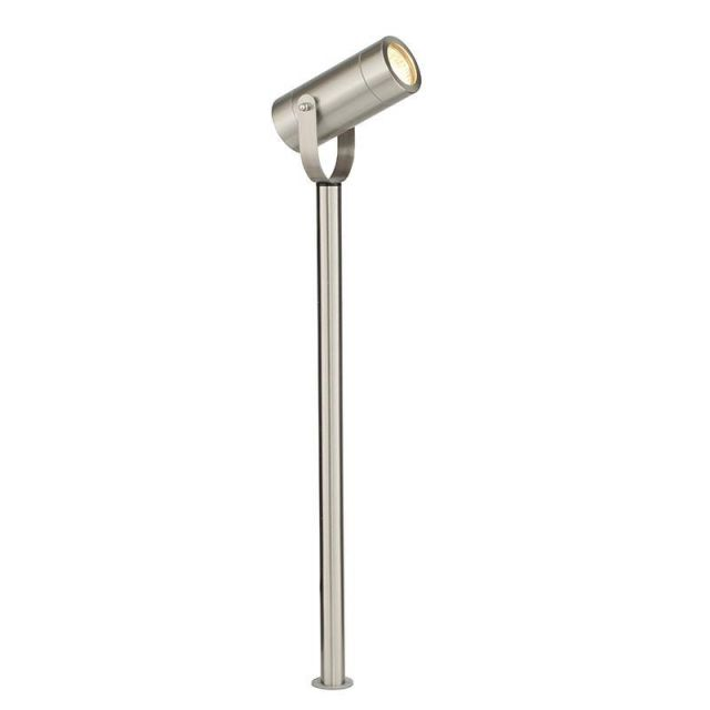 Saxby 13797 Palin Ground Spike Light in Brushed Stainless Steel Finish