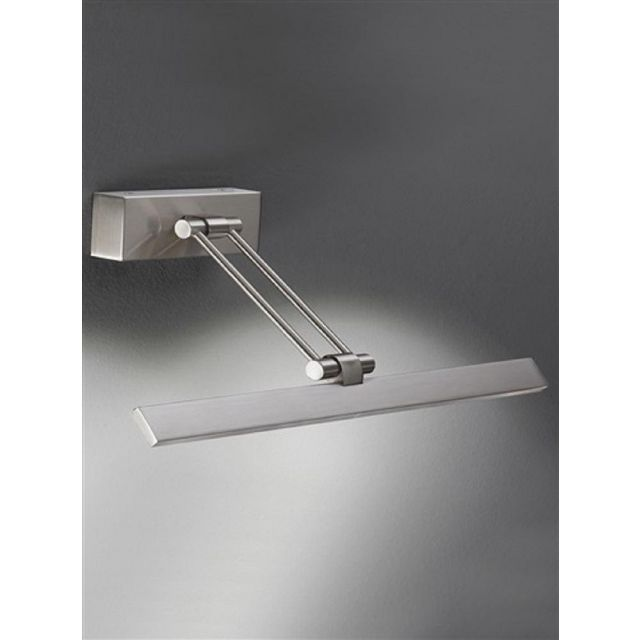 W991 Modern Satin Nickel LED Small Picture Light