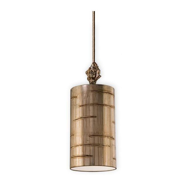 FB/FRAGMENT-S/PS 1 Light Aged Silver Small Ceiling Pendant