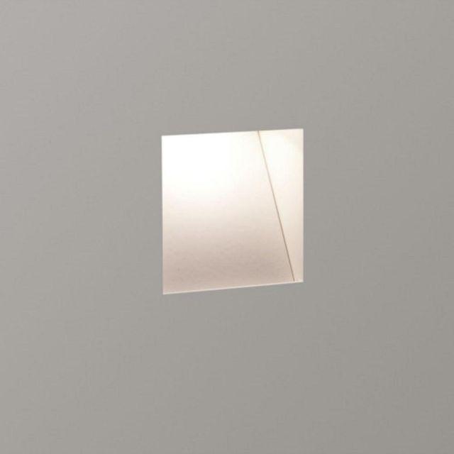 Astro 1212008 Borgo Trimless 65 White Recessed Wall Light