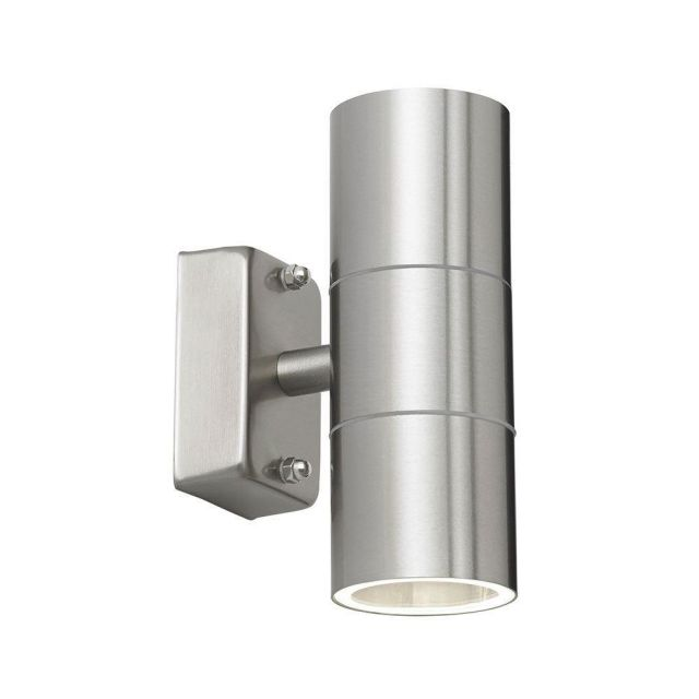 Stainless Steel Outdoor Double Up / Down Spotlight IP44