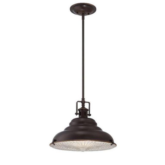 QZ/EASTVALE/P/M Eastvale 1 Light Ceiling Pendant Light