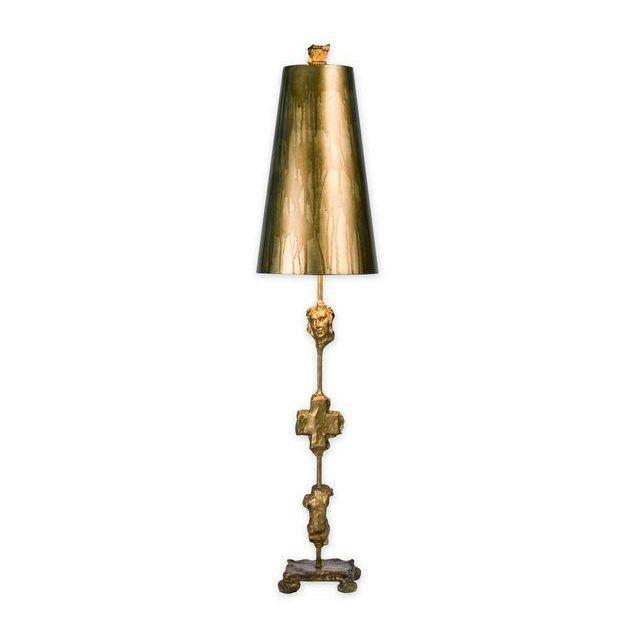 FB/FRAGMENT-TL-G 1 Light Aged Gold Table Lamp