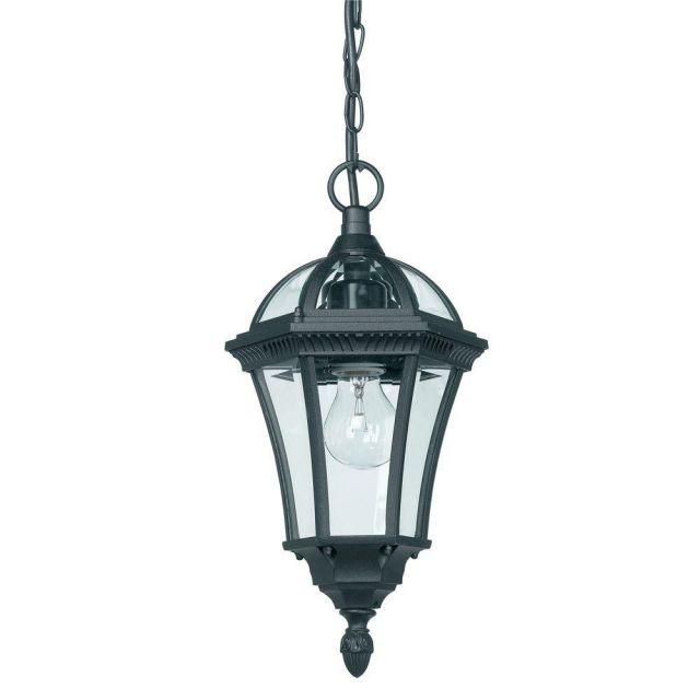 Endon YG-3503 Exterior Hanging Lantern In Black