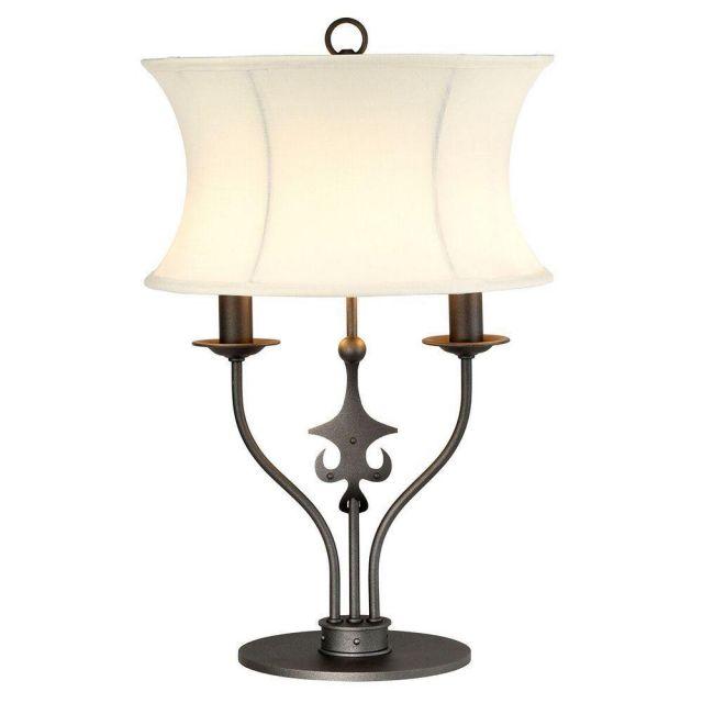 Elstead WINDSOR/TLGR Windsor 2 Light Table Lamp  In Graphite