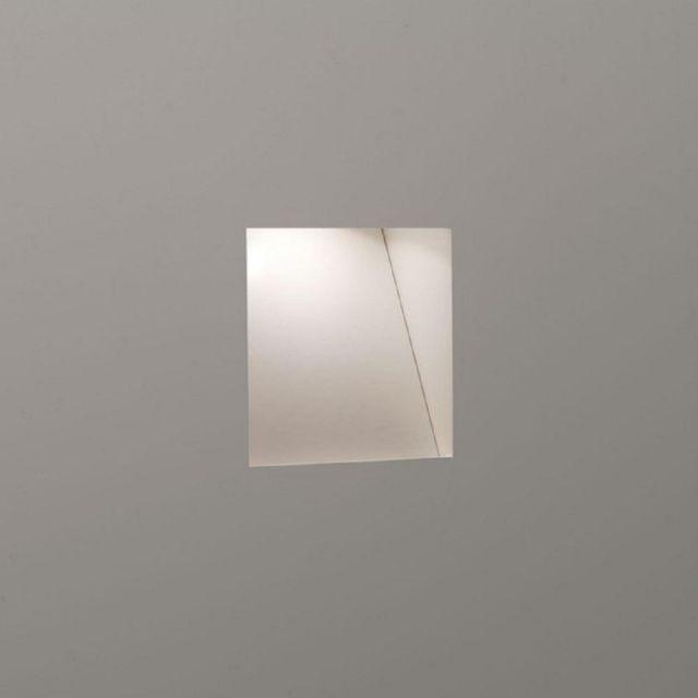 Astro 1212039 Borgo Trimless One Light Recessed Wall Light In White, 3000K - Mini