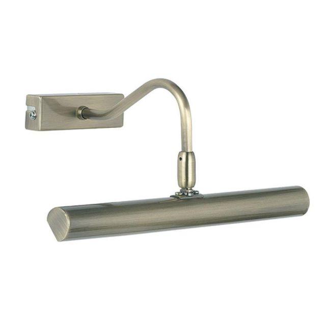 LED Adjustable Picture Light in Antique Brass PL-LEDG9-AN