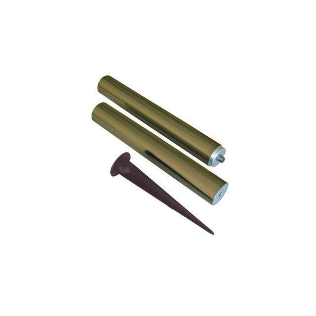 GZ/Elite Pole/B Solid Brass Height Pole from Garden Zone