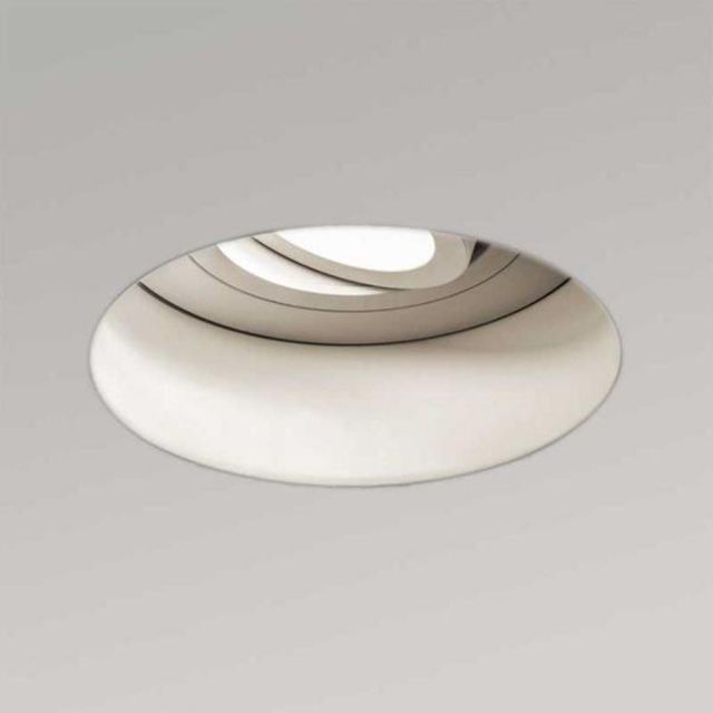 Astro 1248006 Trimless Round Adjustable Fire Rated White Downlight