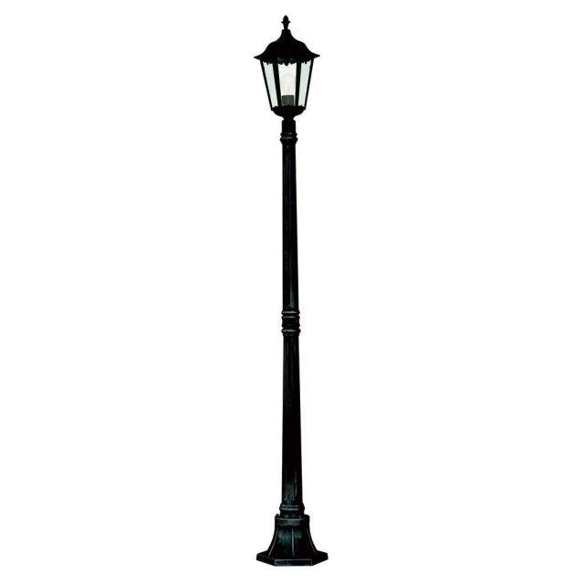 Searchlight 82508BK Alex 1 Light Outdoor Lamp