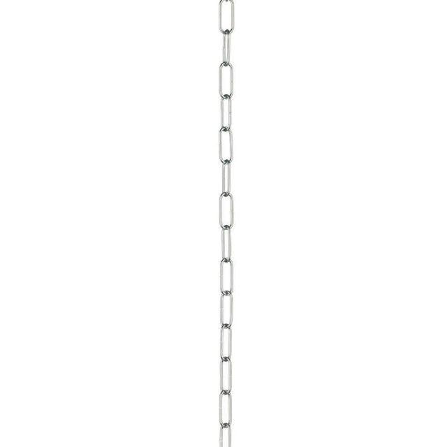 Dar ACC23 Polished Chrome 50cm Chain