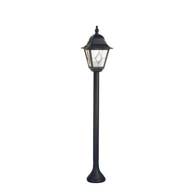 Elstead NR4 Norfolk period, black exterior pillar lantern, IP43