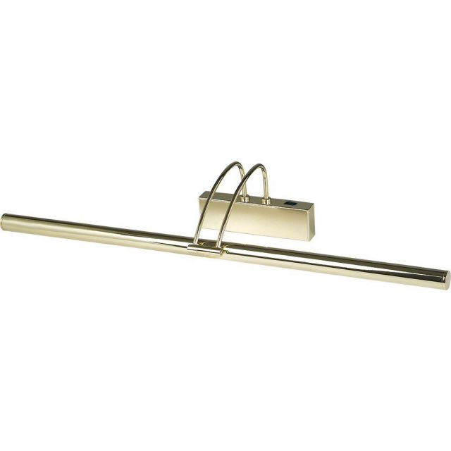 Searchlight 8343PB Adjustable LED Picture Light In Polished Brass
