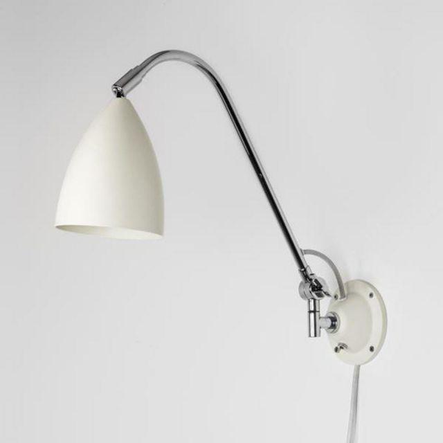 Astro 1223021 Joel Grande Adjustable Wall Light in Cream Finish