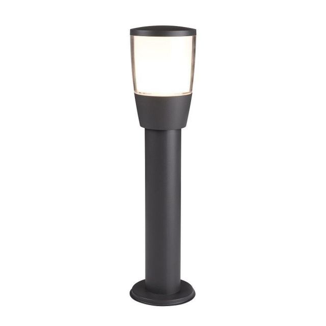 Searchlight 0598-450GY Tucson One Light Outdoor Post Light In Die Cast Aluminium - Height: 450mm