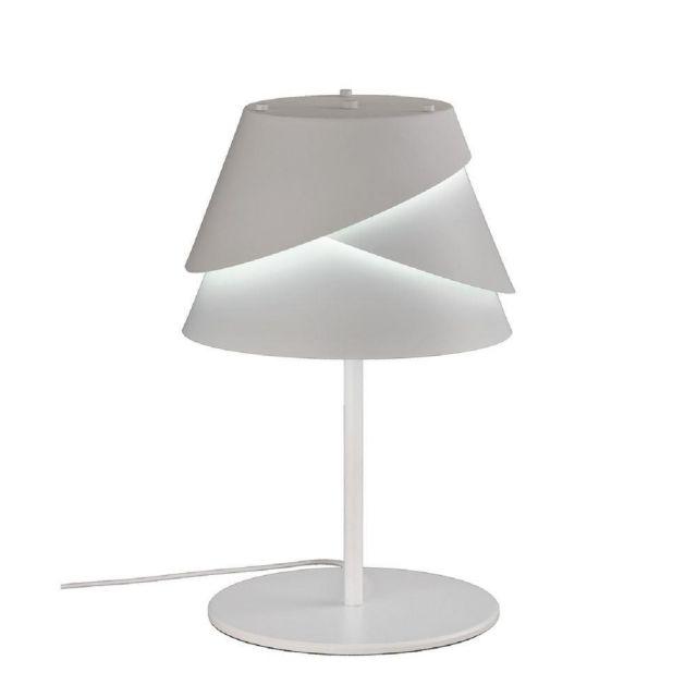 Mantra M5863 Alboran 1 Light Table Lamp  In White