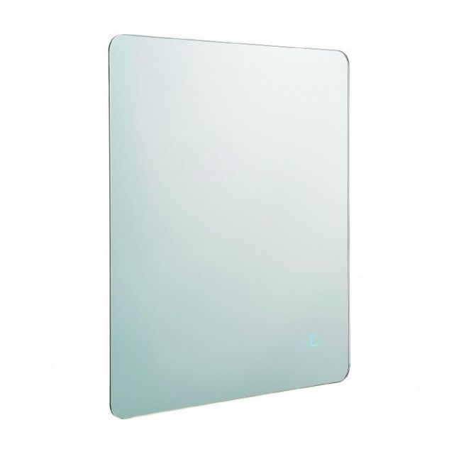 Bathroom Wall Mirror With Integrated LED Light