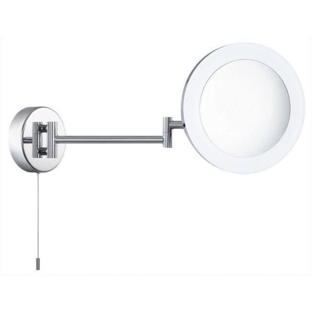 Searchlight 1456CC LED Chrome Bathroom Magnifying Mirror Light