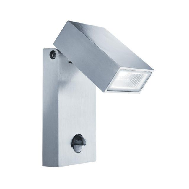 Searchlight 7585 Outdoor Wall Light With Motion Sensor In Stainless Steel