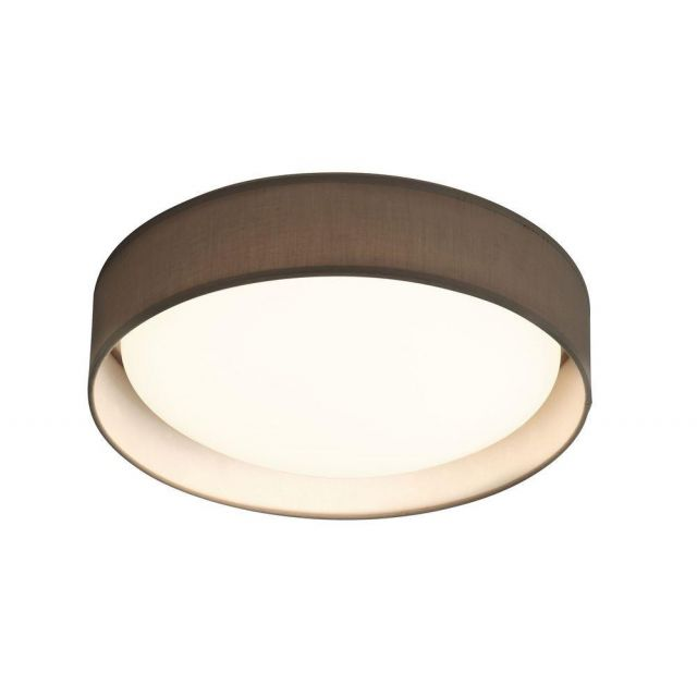 Searchlight 9371-50GY Gianna Flush Ceiling Light In Grey - Dia: 500mm
