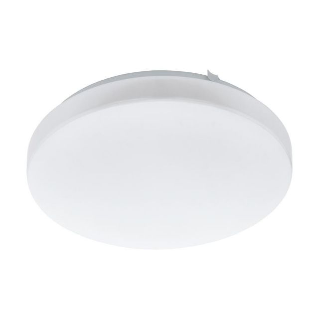 Eglo 97871 Frania LED Round Wall/Ceiling Light In White - Dia: 280mm