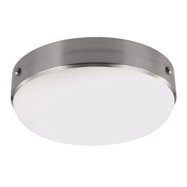 FE/CADENCE/F BS Cadence 2 Light Nickel and Steel Flush Mount Ceiling Light