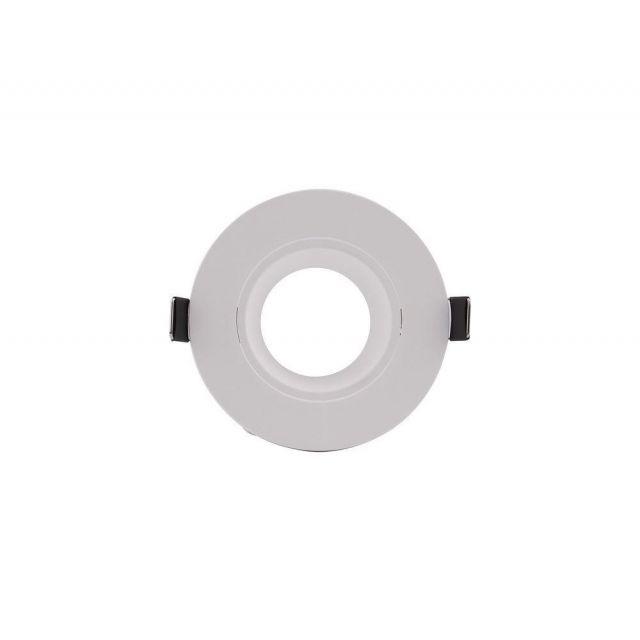 Mantra M6835 Lamborjini 1 Light Round Flush Spotlight In White