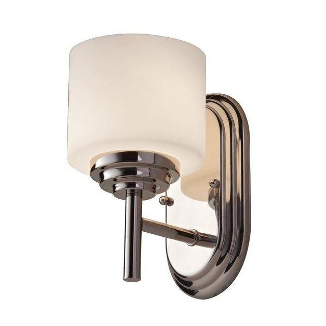 FE/MALIBU1 BATH Malibu 1 Light Polished Chrome Bathroom Wall Light