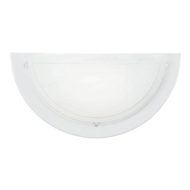 83154 Planet1 1 Light Wall Lamp In White