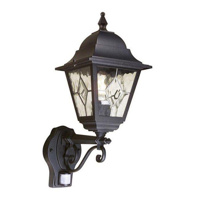 Elstead NR1/PIR Norfolk Exterior PIR Security Lantern IP43