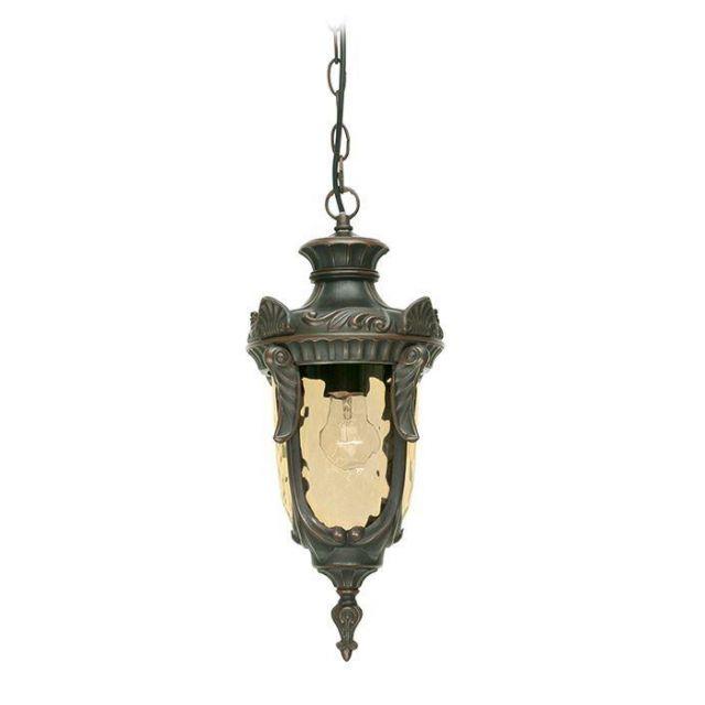 Elstead PH8/M Philadelphia medium exterior chain lantern