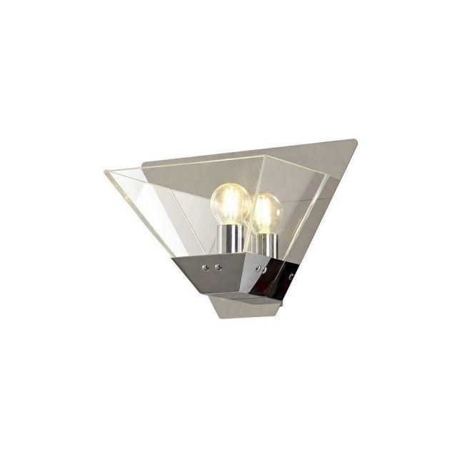 Ewen 1 Light Wall Light In Polished Chrome
