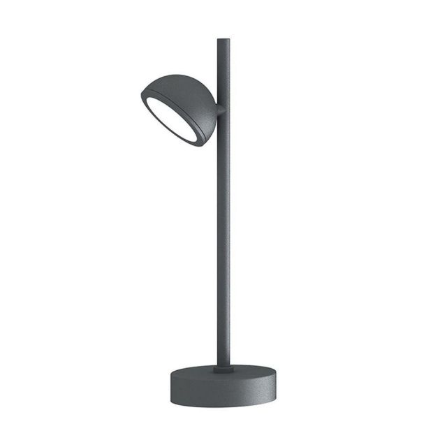Mantra M6745 Everest 1 Light Outdoor Short Post Light In Anthracite - Height: 450mm