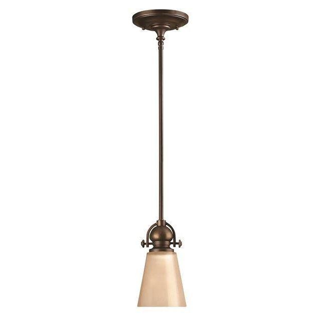 HK/MAYFLOWER/P/A Mayflower 1 Light Olde Bronze Ceiling Pendant