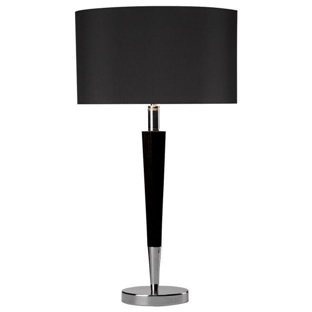 Dar VIK4022 Viking Black Table Lamp
