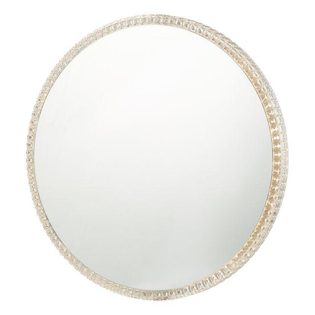 Dar Lighting YEV89 Yevan Illuminated Wall Mirror IP44